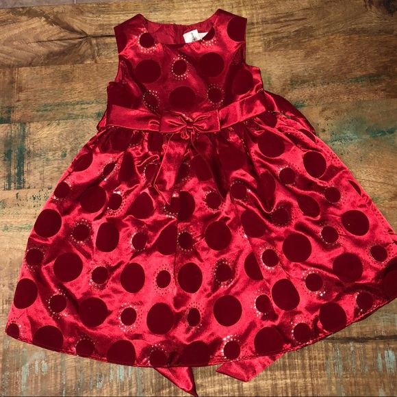 rare editions christmas dress girls size 5